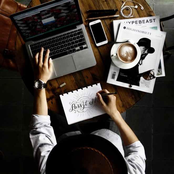 fashion art coffee macbook pro